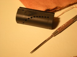 AccuAngle slider and needle tool